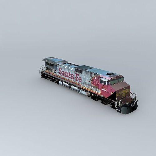 eco rail dash 9 dummy! sidings junk 3d model max obj mtl 3ds fbx stl dae 1