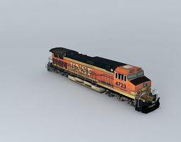 3D Eco Rail Dash 9 Dummy! Weathered