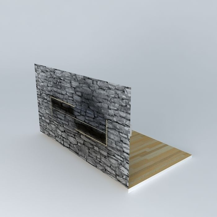 Wand Tv Meubel.Wand Tv Kast 3d Model Cgtrader