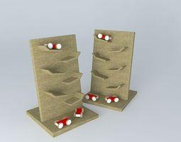 Wood Kids game 3D model