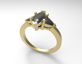 3D printable model 99 Marquise ring