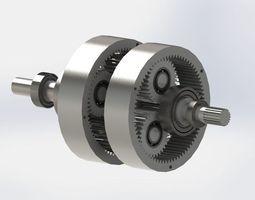 3D Plenetary Gearbox
