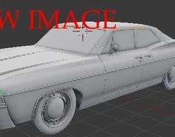 3D model Impala 68 Sport Sedan