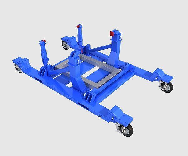 engine bracket 3d model max obj mtl 3ds fbx 1