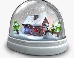 3d magic snowglobe v1