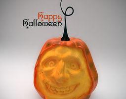Halloweens pumpkin 3D model