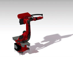 Kuka arm Robot KR6-2 3D model