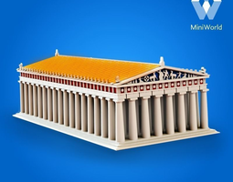 3d print model parthenon reconstruction