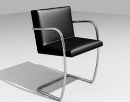 tubular chair 3d model