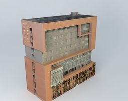 3d model second international school of east china normal university