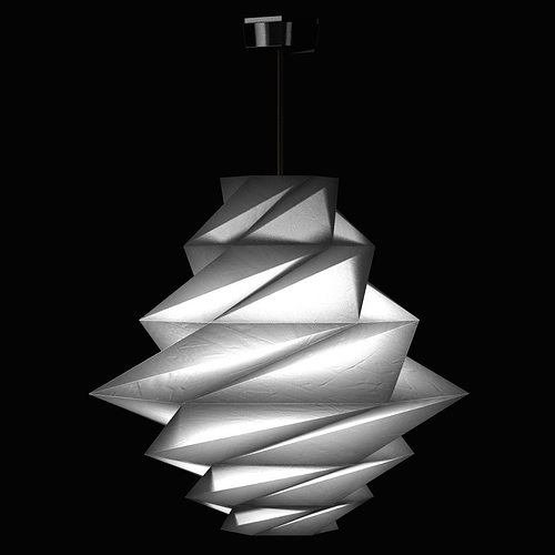 Urou Pendant Light By Issey Miyake From Artemide Lighting Model