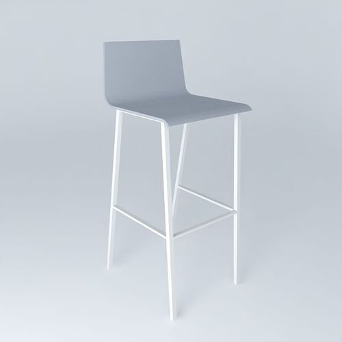 Bar Chair Seattle White Houses Of The World 3d Model Max Obj 3ds Fbx Stl Dae