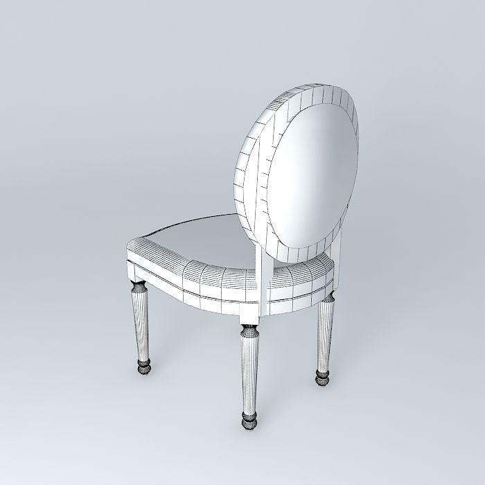 Dollar Louis Chair Houses The World 3d Model Max Obj 3ds Fbx Stl Dae