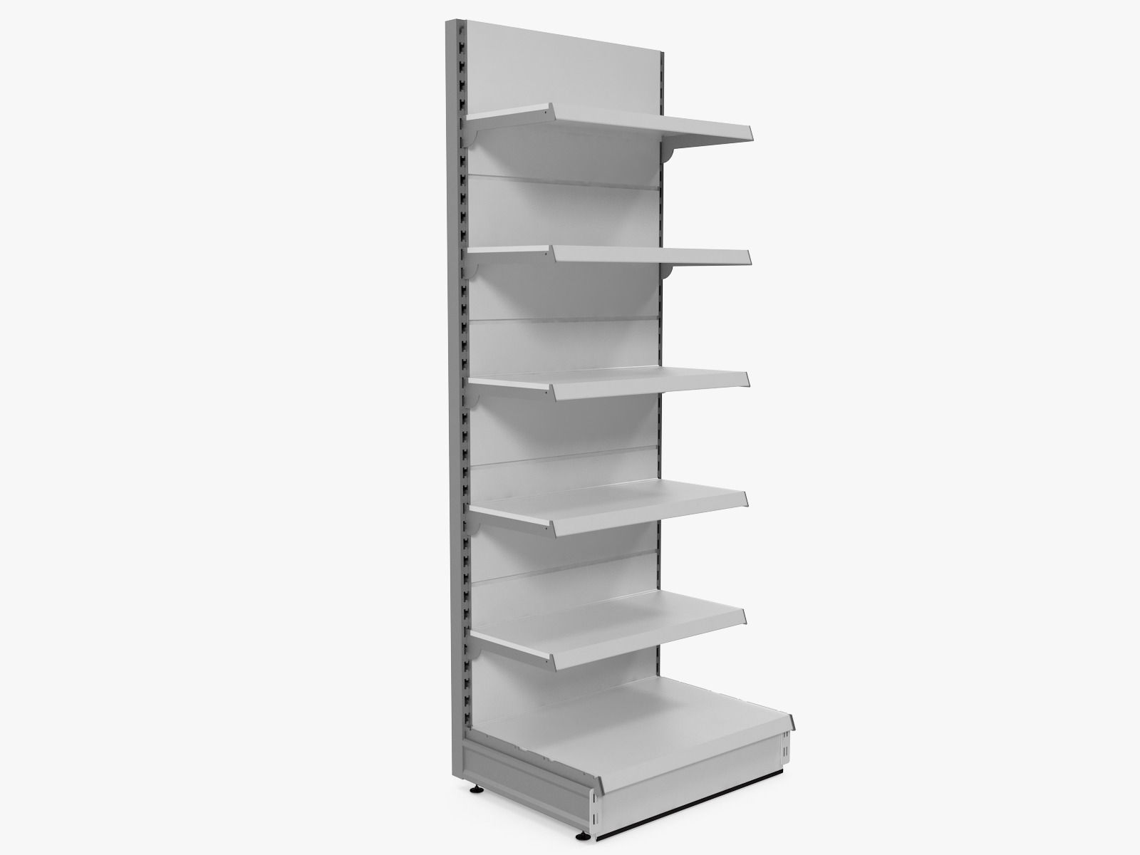 Supermarket Shelf | 3D model