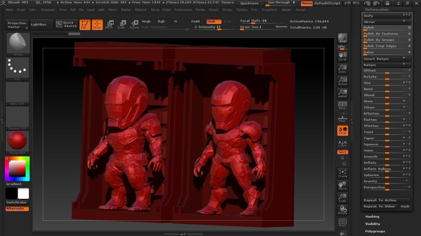 Iron Man SD