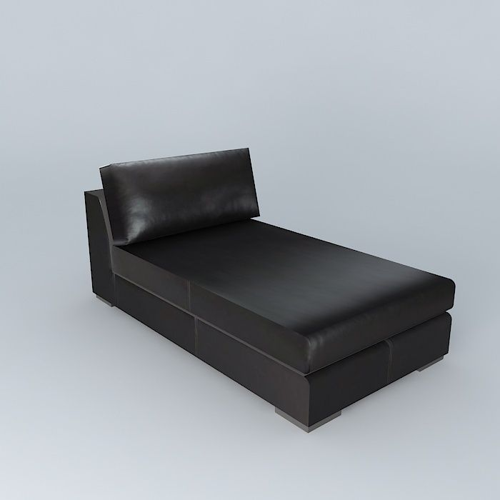 Leather3d Chaise Long Terence Brown Model RAj5L4