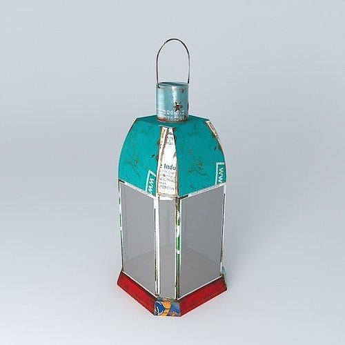 Maison Du Monde Lanterne.Lantern Triana Maisons Du Monde 3d Cgtrader