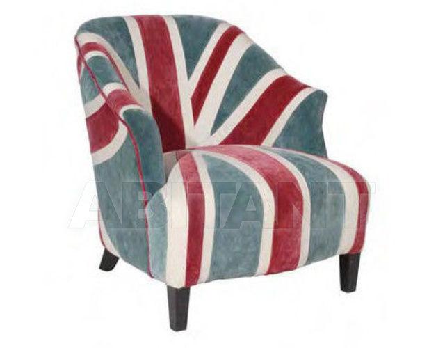 Bon Andrew Martin Abingdon Chair Velvet Union Jack 3d Model Max 1