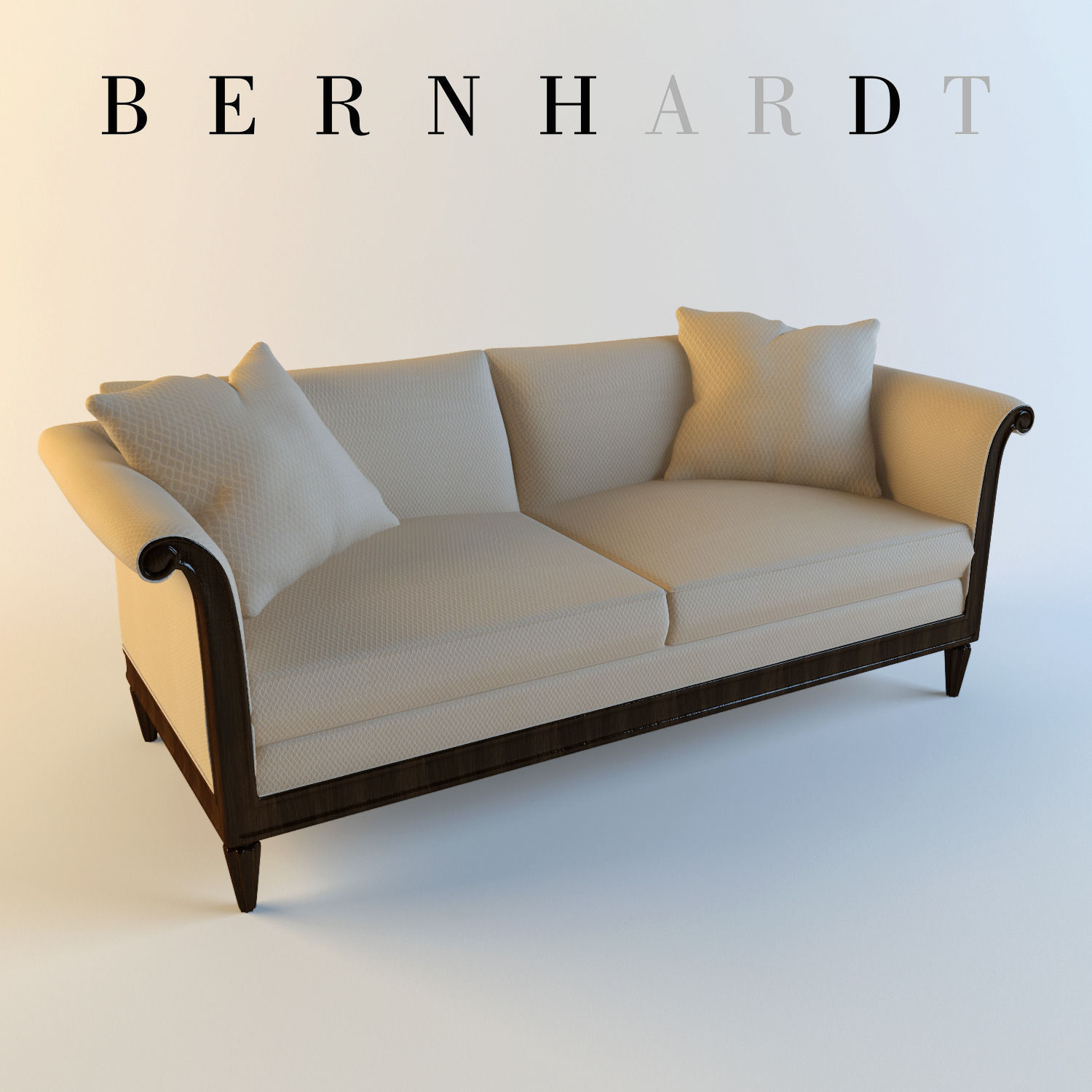 Bernhardt Traditional Sofa 3d Model Max 1