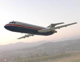 British Aircraft Corp 500 3D asset