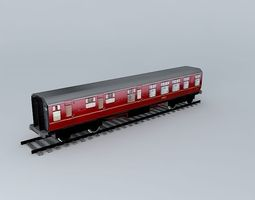 3d eco rail track standard dummy old steam days