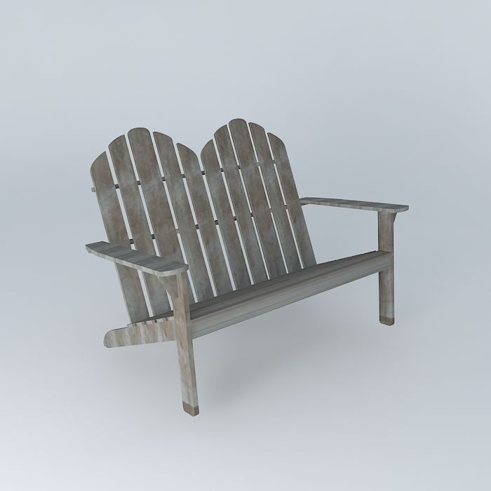 3d Model Ontario Bench Houses The World Cgtrader