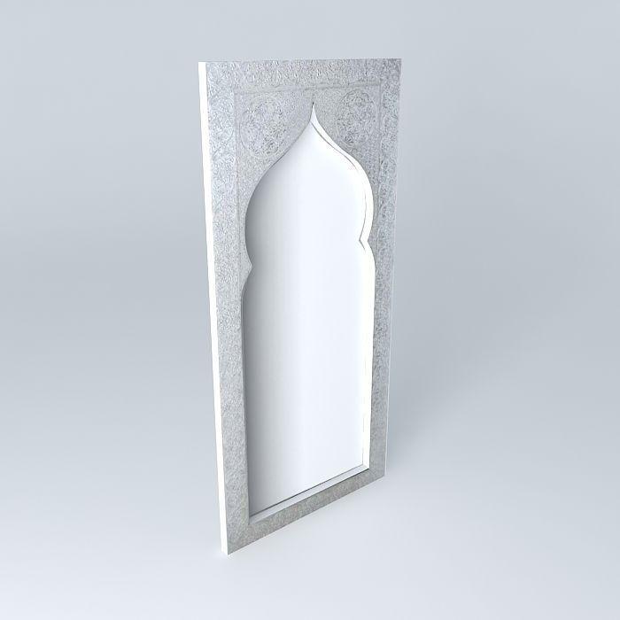 Miroir oriental maison du monde great atlantic style for Miroir oriental
