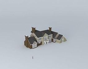 3D model Nice house version 1