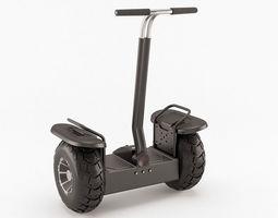 off-road self-balancing scooter 3d model