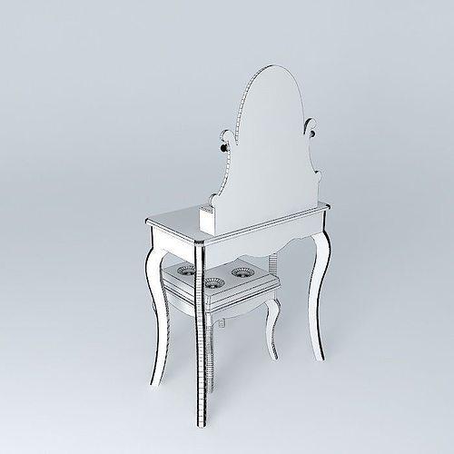 Vestiaire Maison Du Monde : perfect finest diamant dressing table maisons du monde d model max obj ds fbx stl dae with ~ Farleysfitness.com Idées de Décoration