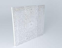 3D 3 panels
