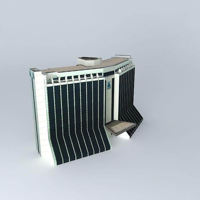 Bank Panin Center 3D | CGTrader