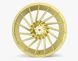 3D model Vossen VPS 304 Gold