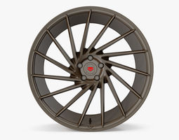 Vossen VPS 304 Black Chocolate 3D model