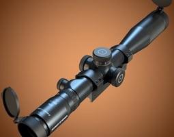 Schmidt Bender PM II 3-12x50 scope 3D
