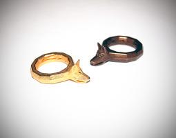 Dog Ring D18 3D Model