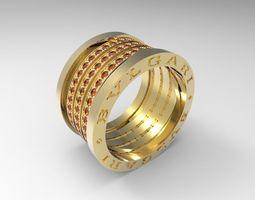 3D print model Bulgary ring big