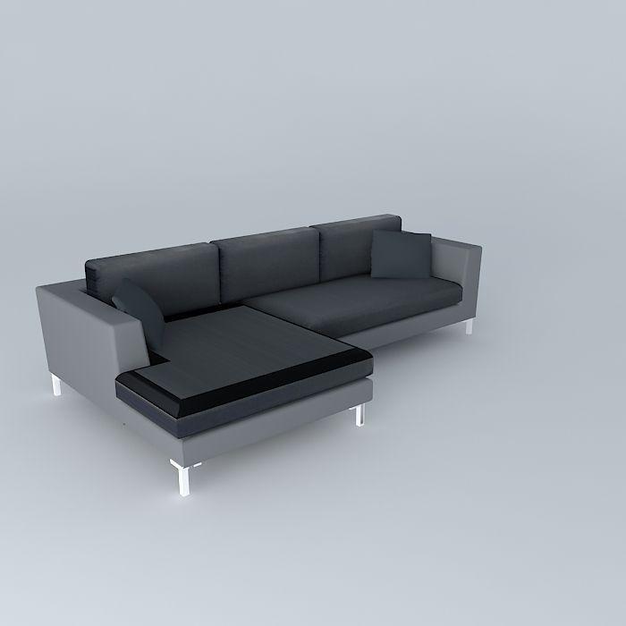 5 seater sofa DUBLIN slate