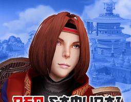 3D model Red Samurai - Bro