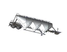 3D model Pneumatic Tank 750cuft