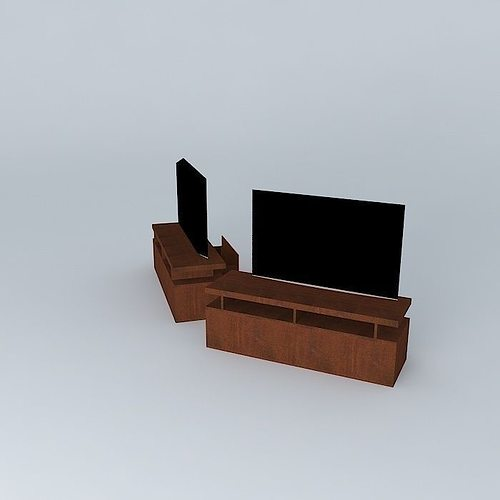 Rack Cabinet 3d Model Max Obj 3ds Fbx Stl Dae 1
