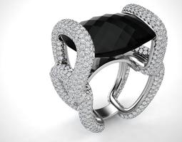 ring model - 050 3d model stl 3dm
