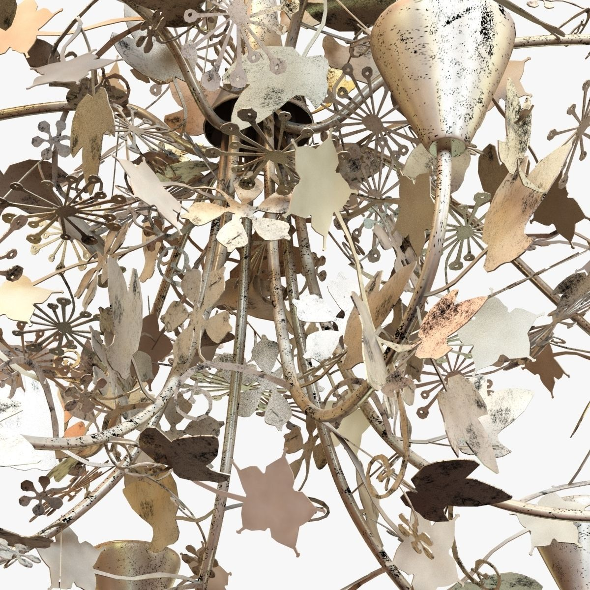 Porta romana ivy shadow chandelier forest gold 3d model max obj porta romana ivy shadow chandelier forest gold 3d model max obj 3ds fbx mtl aloadofball Choice Image
