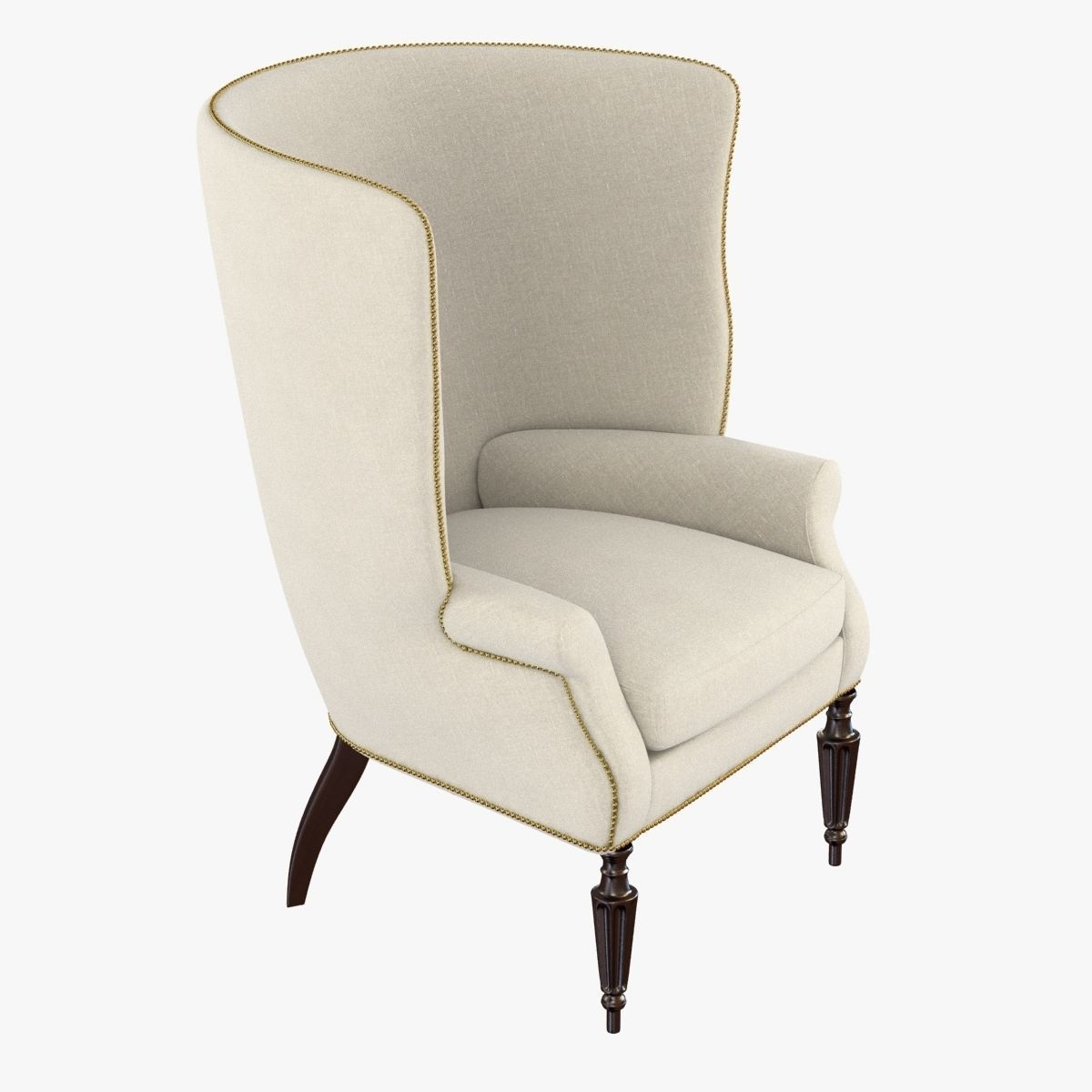 the wainscott wing chair by victoria hagan