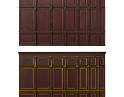 wooden panel 02 3D