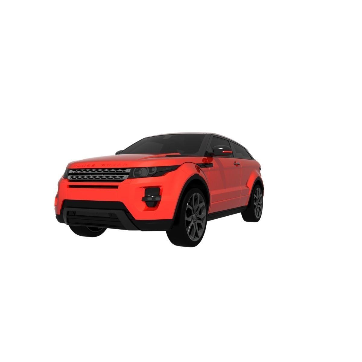 Range Rover Evoque with PBR textures