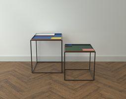3D asset Design Side Table Fama