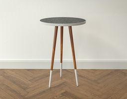 3D model Design Side Table Mina