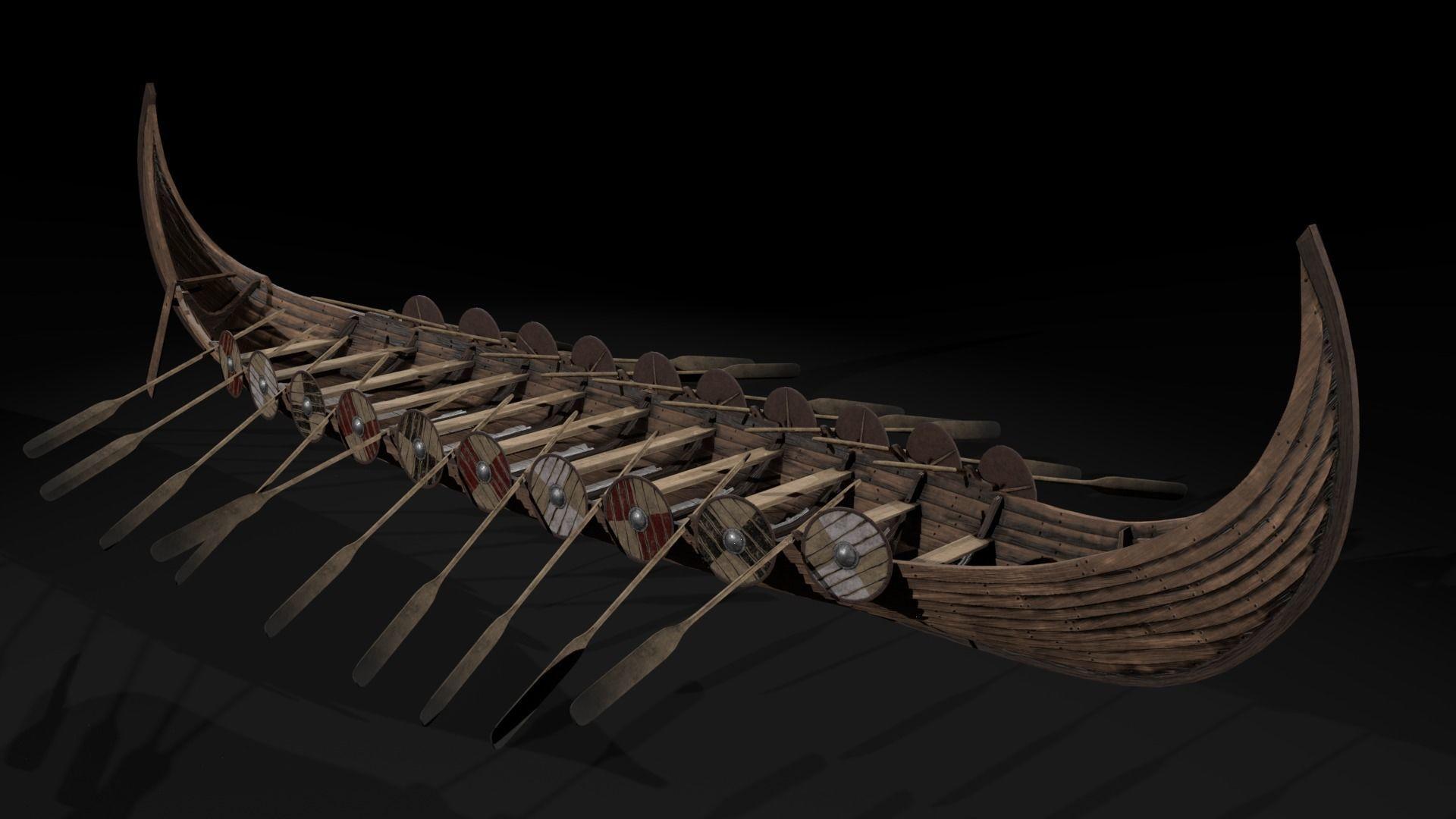 The Kvalsund vikings Ship