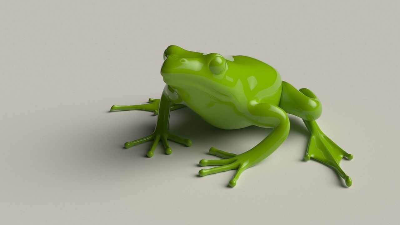 Frog basemesh 5k tris
